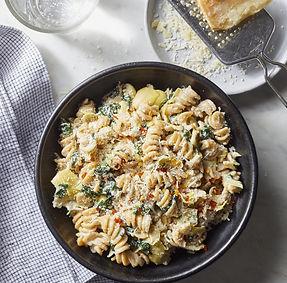 Spinach and Artichoke Dip Pasta .jpeg