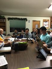 Wednesday Night Bible Class Singing