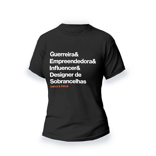 """Camiseta Coleção Fadas """"Fada Guerreira"""""""
