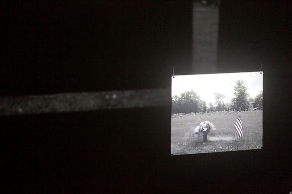 'trigger' multimedia installation, bianca turner, 2016