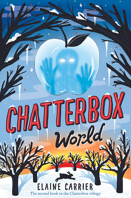 Please click on the book above to purchase a signed copy of Chatterbox World