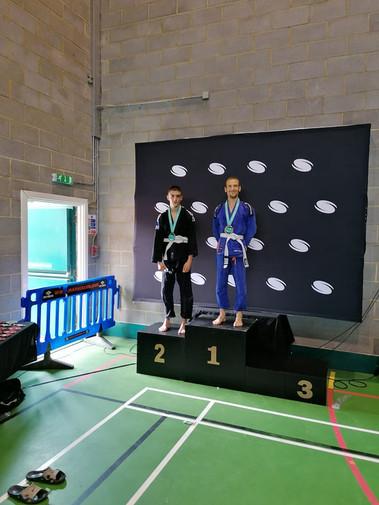 Mattia wins 1st comp