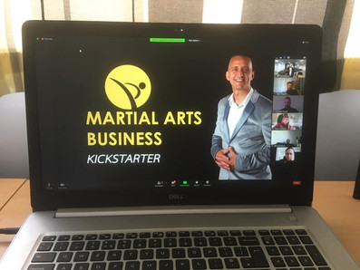 Martial arts buisness course