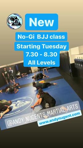 new no gi bjj class