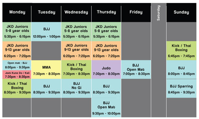 New timetable