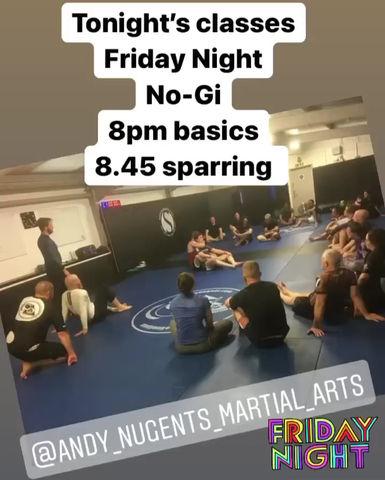 Friday night classes