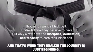 Becoming a Blackbelt