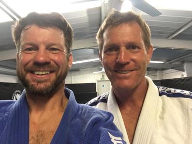 Early morning judo