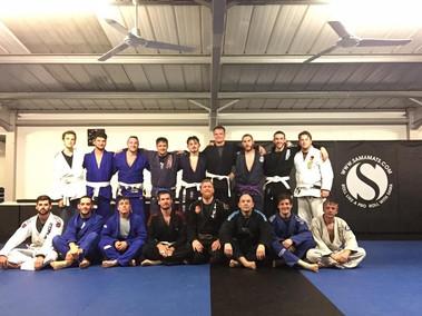 BJJ Sunday night training