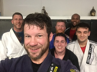 Tuesday BJJ lunch time class