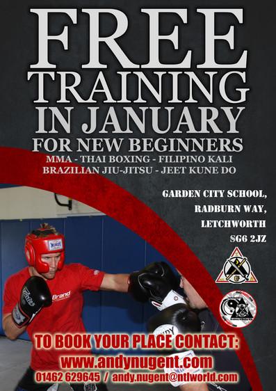 January FREE training