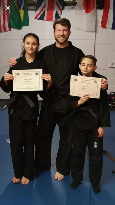 Junior Black Belt Grading
