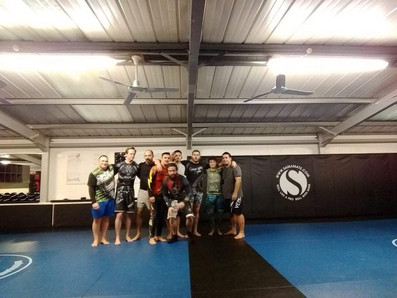 BJJ  early morning class