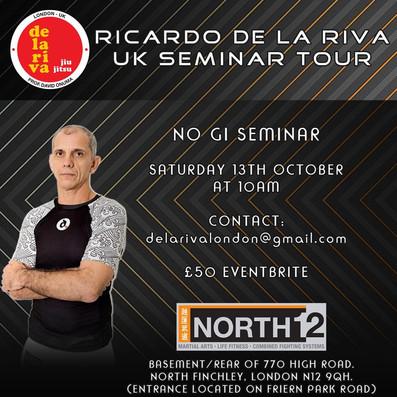 No Gi BJJ De La Riva Seminar