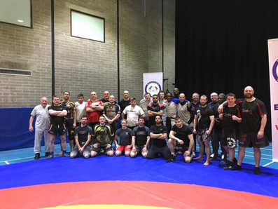 Bedford wrestling seminar