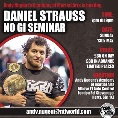 Daniel Strauss BJJ Seminar