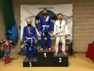 Medals at BJJ Comp
