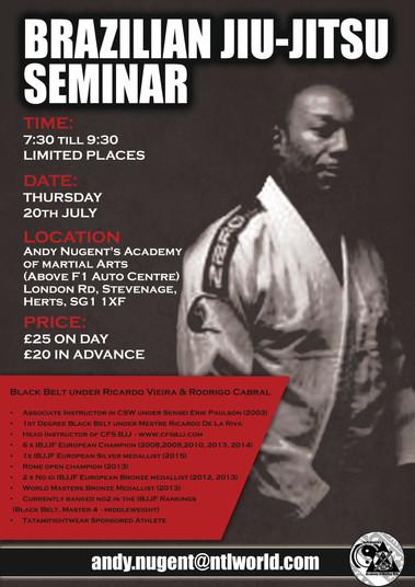 BJJ Seminar @ Stevenage