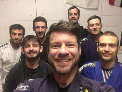BJJ lunchtime class
