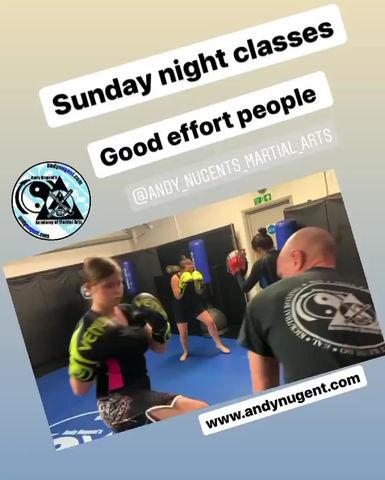 Sunday night classes