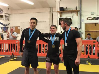 1st place Gold Sussex BJJ comp