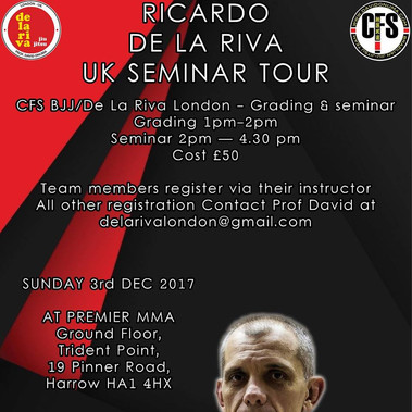 De La Riva BJJ seminar