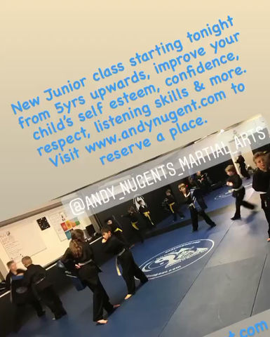 New Wednesday night Junior class