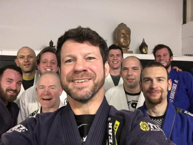 BJJ Tuesday lunch time class