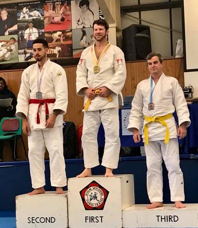 Stevenage judo comp