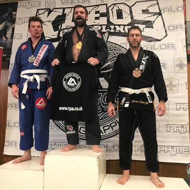 Medals at Kleos BJJ Comp