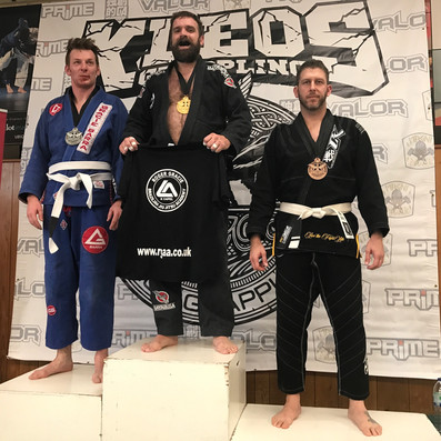Medals at Kleos BJJ Comp