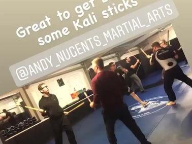 Jeet Kune Do / Kali classes are back