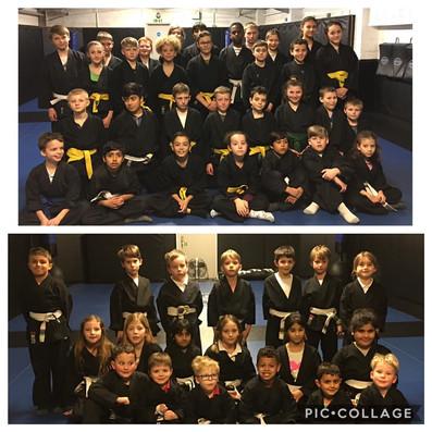 Junior Martial Arts grading