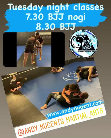 Tuesday night grappling