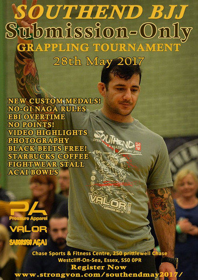 BJJ submission only comp Southend