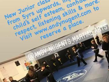 New Wednesday night Junior classes