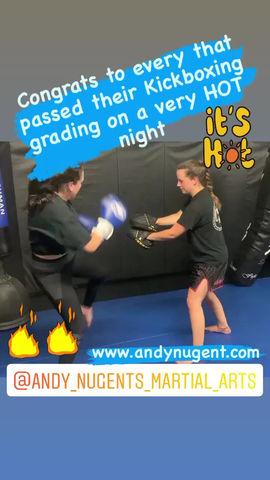 Kickboxing grading