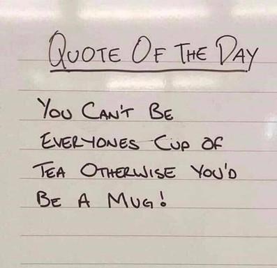 Don't be a Mug