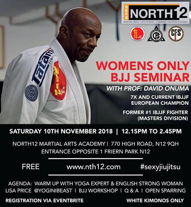 Ladies BJJ seminar