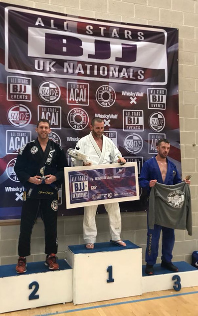 BJJ silver for Jay Provan