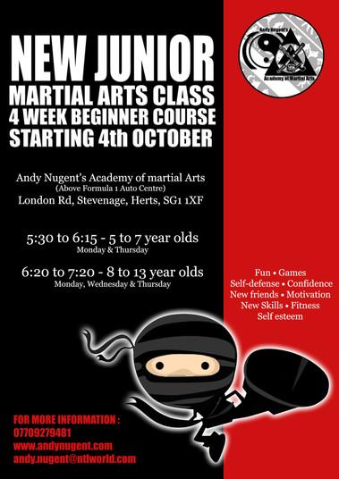 Junior beginner classes