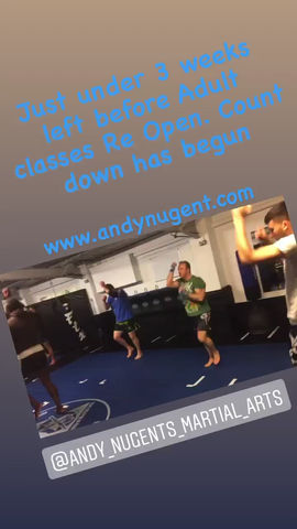 Adult classes Opening soon
