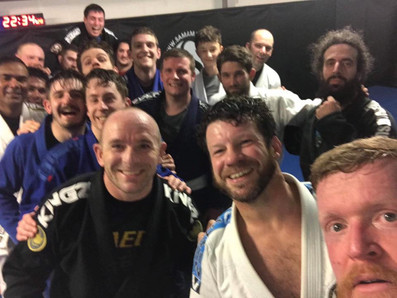 End of year BJJ class
