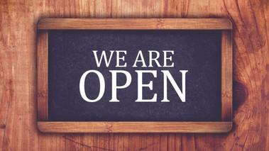Open Bank Hol Monday