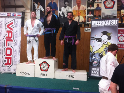 So day 2 at Kleos, Alexander Tillisch did very well in the Purple belt U88kgs taking silver place, u