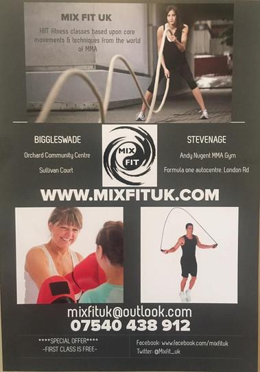 Mixfit UK Stevenage