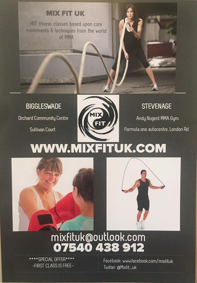 Mixfit UK Stevenage