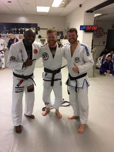 New BJJ belts awarded