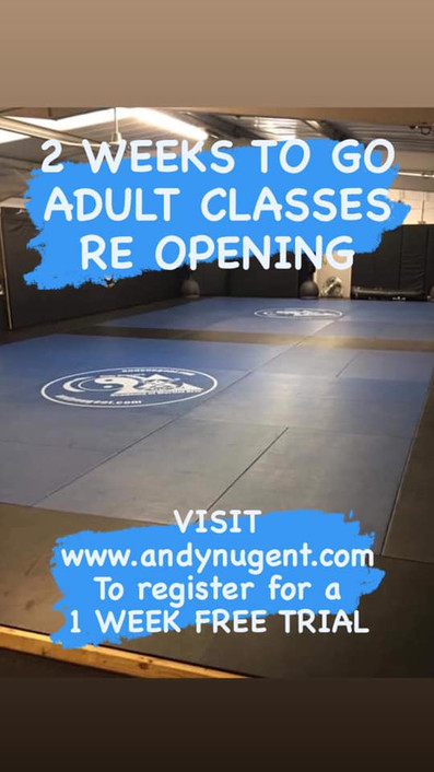 ADULT classes opening