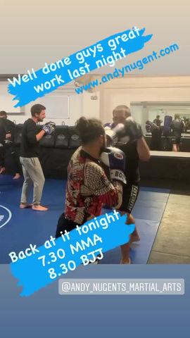Tuesday night classes